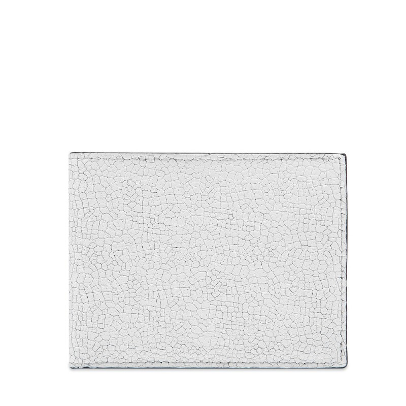 Common Projects Standard Wallet Cracked Leather White (9135-0506)