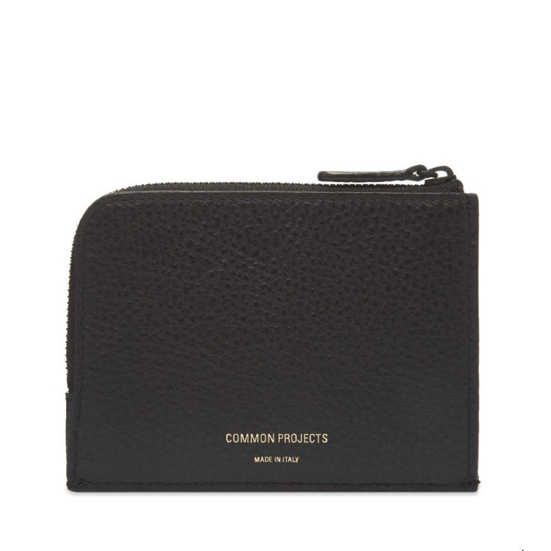 Zipper Wallet Black Textured (9179-7001)